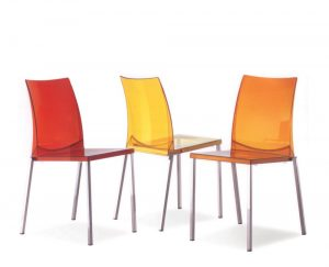 Seatware Haus barstools and chairs policarbonato
